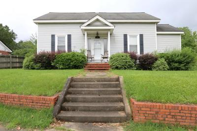 Macon County Single Family Home For Sale: 409 South Dooly Street