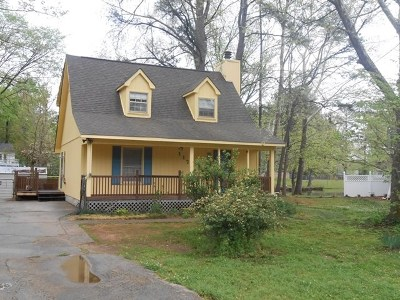 Macon Single Family Home For Sale: 1176 Sandy Beach Drive