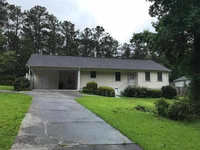 Macon Single Family Home For Sale: 6627 Dana Drive