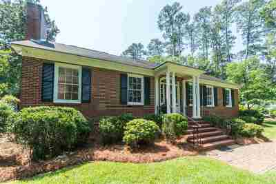 Macon Single Family Home For Sale: 1247 Jackson Springs Road