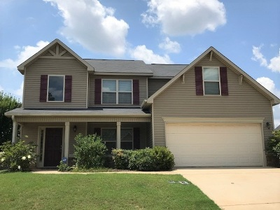 Perry Single Family Home For Sale: 117 Rippling Water Way