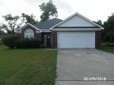 Macon GA Single Family Home For Sale: $109,000