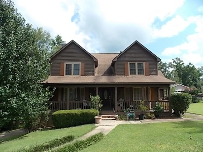 Macon Single Family Home For Sale: 6376 Mansion Drive