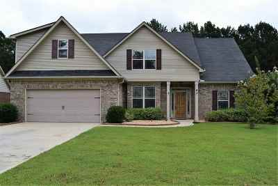 Macon Single Family Home Contingent: 433 Stonecrest Court