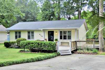 Macon Single Family Home For Sale: 414 Edgewater Circle