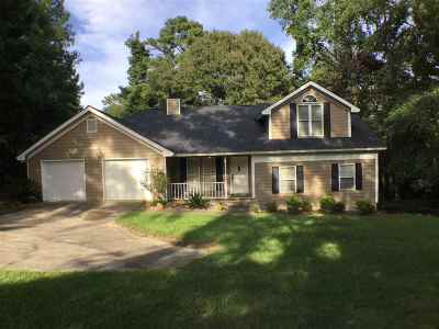 Single Family Home For Sale: 5895 Sardis Church Road