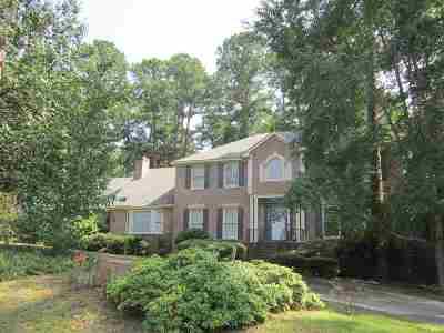 Macon Single Family Home For Sale: 4914 Zebulon Road