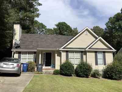 Macon Single Family Home For Sale: 564 Loblolly Lane