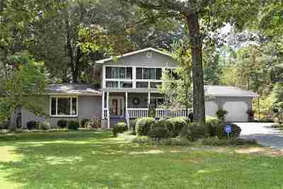 Single Family Home For Sale: 232 Tucker Road