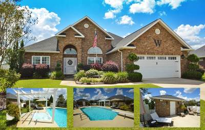Single Family Home For Sale: 102 Rambling Creek Cove