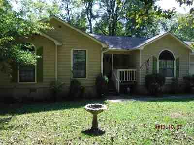 Macon Single Family Home For Sale: 1126 Sandy Beach Drive