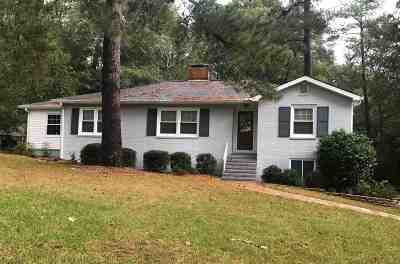 Macon Single Family Home For Sale: 1725 Hawthorne Road