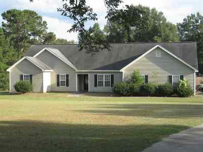 Fort Valley Single Family Home For Sale: 1227 River Road