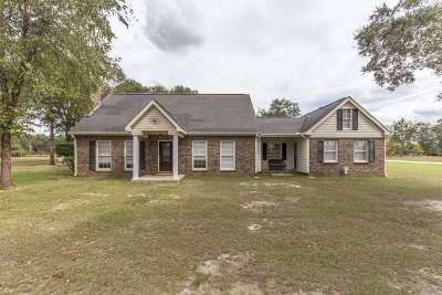 Perry Single Family Home For Sale: 1901 Tucker Road