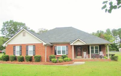 Macon Single Family Home For Sale: 4113 Jones Road