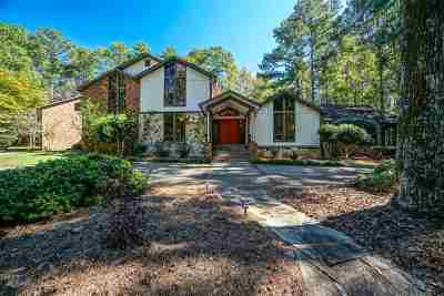 Bibb County, Crawford County, Houston County, Monroe County, Peach County Single Family Home For Sale: 1225 Bass Road