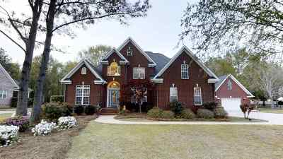 Macon Single Family Home For Sale: 221 Liberty Trace