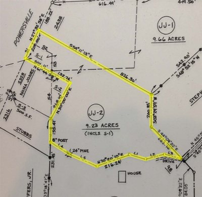Byron Residential Lots & Land For Sale: 9.23 Acres Powersville Rd