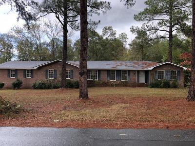Cochran GA Single Family Home For Sale: $86,000