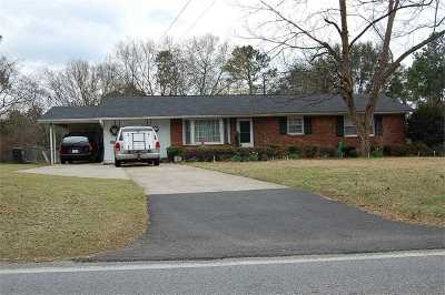 Perry Single Family Home For Sale: 1210 Tucker Road