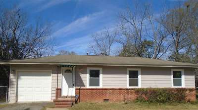 Warner Robins Rental For Rent: 107 Trinity Circle