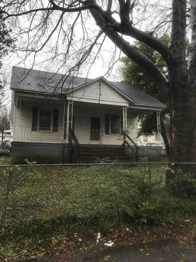 Macon Single Family Home For Sale: 124 Comer Terrace