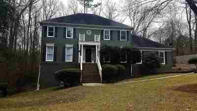 Macon Single Family Home Contingent: 5276 White House Plantation Road