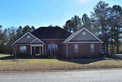 Warner Robins Single Family Home For Sale: 158 Holly Pointe