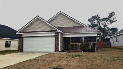 Warner Robins Single Family Home Verbal Agreement: 338 Hidden Creek Circle