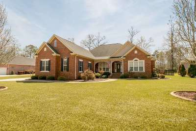 Warner Robins Single Family Home For Sale: 110 Hampton Pointe