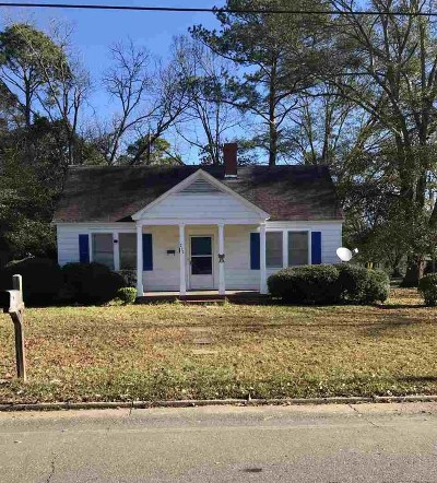 Fort Valley Single Family Home For Sale: 217 Oak Street