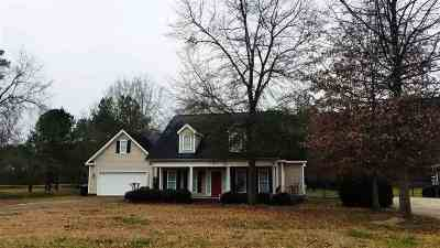 Macon Single Family Home For Sale: 6691 Vinson Road