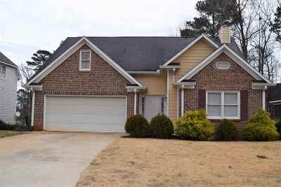 Macon Single Family Home For Sale: 123 Brieghton Ct