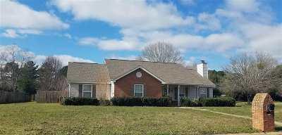 Warner Robins Single Family Home For Sale: 500 Quail Run Drive