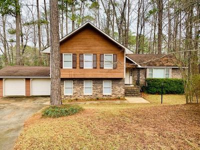 Macon Single Family Home For Sale: 1302 Guinevere Lane