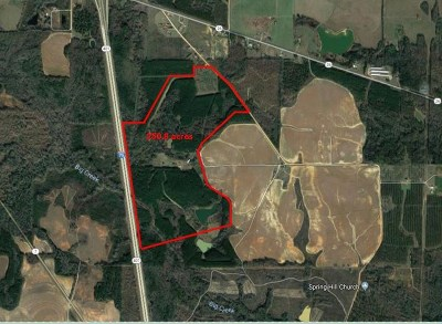 Bibb County, Crawford County, Houston County, Monroe County, Peach County Residential Lots & Land For Sale: 241 Henderson Springs Road