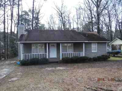 Macon Single Family Home For Sale: 1125 Chisholm Trail