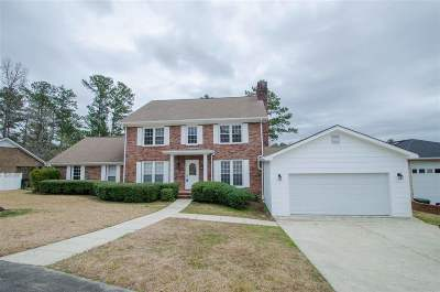 Macon Single Family Home For Sale: 6860 Bay Point Drive