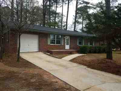 Fort Valley Single Family Home For Sale: 265 Christopher Circle