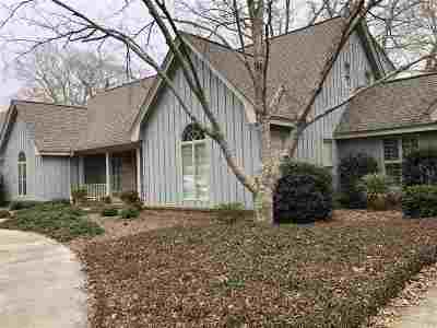 Perry Single Family Home For Sale: 1026 Cherokee Road