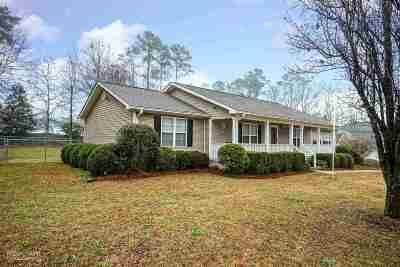 Macon Single Family Home For Sale: 4407 Jones Rd