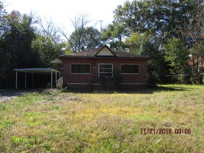 Macon Single Family Home For Sale: 1028 Thomas St
