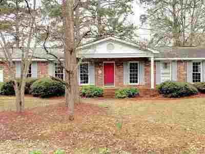 Perry Single Family Home For Sale: 1009 Country Club Road
