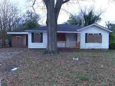 Macon Single Family Home For Sale: 856 Beddingfield Avenue