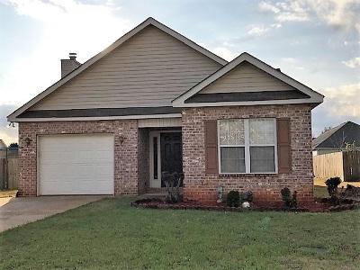Warner Robins Single Family Home Verbal Agreement: 126 Millbrook Drive