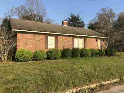 Macon County Single Family Home For Sale: 408 Sumter Street