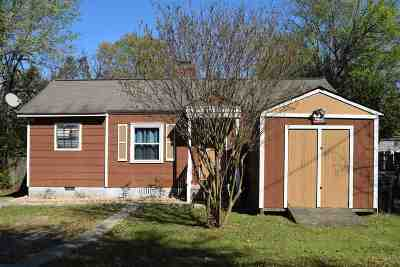 Single Family Home For Sale: 628 Miller Drive