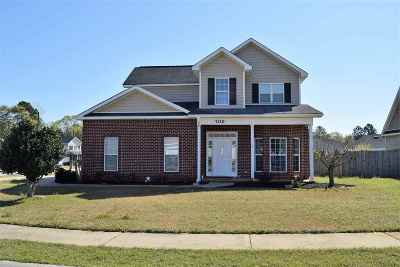 Warner Robins GA Single Family Home For Sale: $169,900