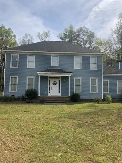 Macon Single Family Home For Sale: 5740 Zebulon Road