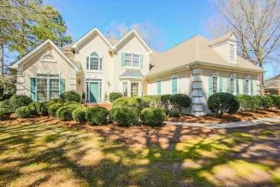 Perry Single Family Home For Sale: 1027 Cherokee Roads